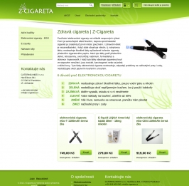 Z-Cigareta - Elektronická cigareta